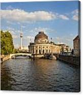 Bode Museum In Berlin Germany Canvas Print