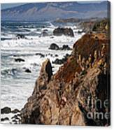 Bodega Bay Color Canvas Print