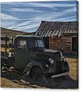 Bodie Abandoned Truck Canvas Print