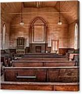 Bodie Church Canvas Print