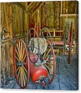 Bodie Fire Dept Water Pumper Img 7310 Canvas Print
