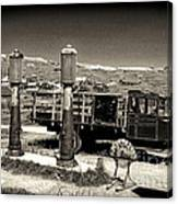 Bodie Gas Station Canvas Print