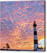 Bodie Island Lighthouse At Sunrise Vetical Canvas Print