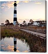 Bodie Island Lighthouse - Cape Hatteras Outer Banks Nc Canvas Print
