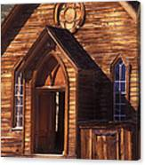Bodie Methodist Church Canvas Print