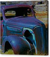 Bodie Plymouth Canvas Print