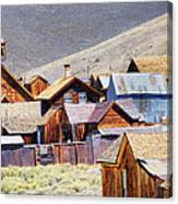 Bodie Rooftops Canvas Print