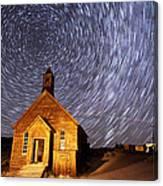 Bodie Star Trails Canvas Print