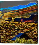 Bodie Sunset Canvas Print