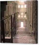 Bodmin Jail Looking In Canvas Print