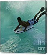 Body Surfer Canvas Print