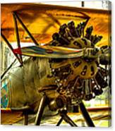 Boeing 100p Fighter Canvas Print
