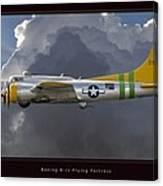 Boeing B-17 Canvas Print