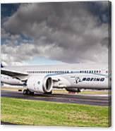 Boeing Dreamliner 787 Canvas Print