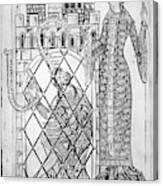 Boethius (c480-c524) Canvas Print