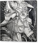 Bogomils Duckhunting Mask Canvas Print