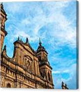 Bogota Cathedral Front Canvas Print