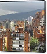 Bogota City View Canvas Print