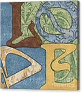 Bohemian Love Canvas Print