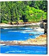 Boiler Bay 17160 Canvas Print