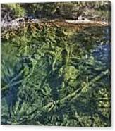 Boiling Emerald Pools Canvas Print