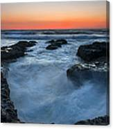 Boiling Point Canvas Print