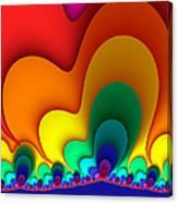 Bold Colors Fractal Canvas Print