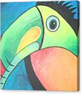 Bold Toucan Canvas Print