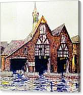 Boldt Castle Boat House Canvas Print