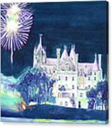 Boldt Castle Fireworks Canvas Print