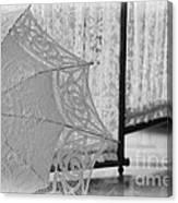 Boldt Castle Umbrella Canvas Print
