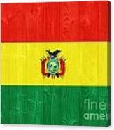 Bolivia Flag Canvas Print