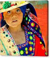 Bolivian Child Canvas Print
