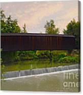 Bollinger Cover Bridge Canvas Print