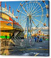 Bolton Fall Fair 3 Canvas Print