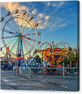 Bolton Fall Fair 4 Canvas Print