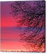 Bolton Sunset Canvas Print