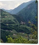 Bolzano Castle Canvas Print