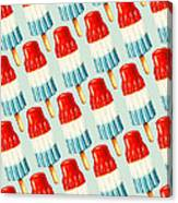 Bomb Pop Pattern Canvas Print