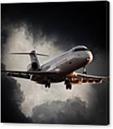 Bombardier Landing Canvas Print