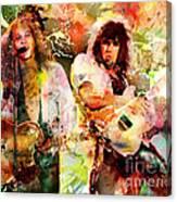 Bon Jovi Original  Canvas Print