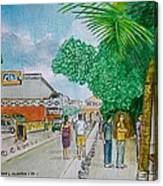 Bonaire Street Canvas Print
