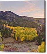 Bonanza Autumn View Canvas Print