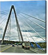 Bond Bridge In Kansas City Canvas Print