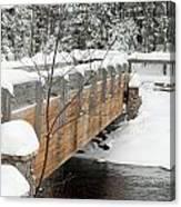 Bond Falls Bridge Canvas Print