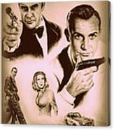 Bond The Golden Years Canvas Print