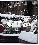Bondville Model Village Canvas Print