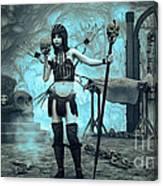 Bone Collector Canvas Print