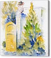 Bonnet House Garden Gate Canvas Print