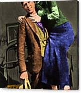 Bonnie And Clyde 20130515 Canvas Print